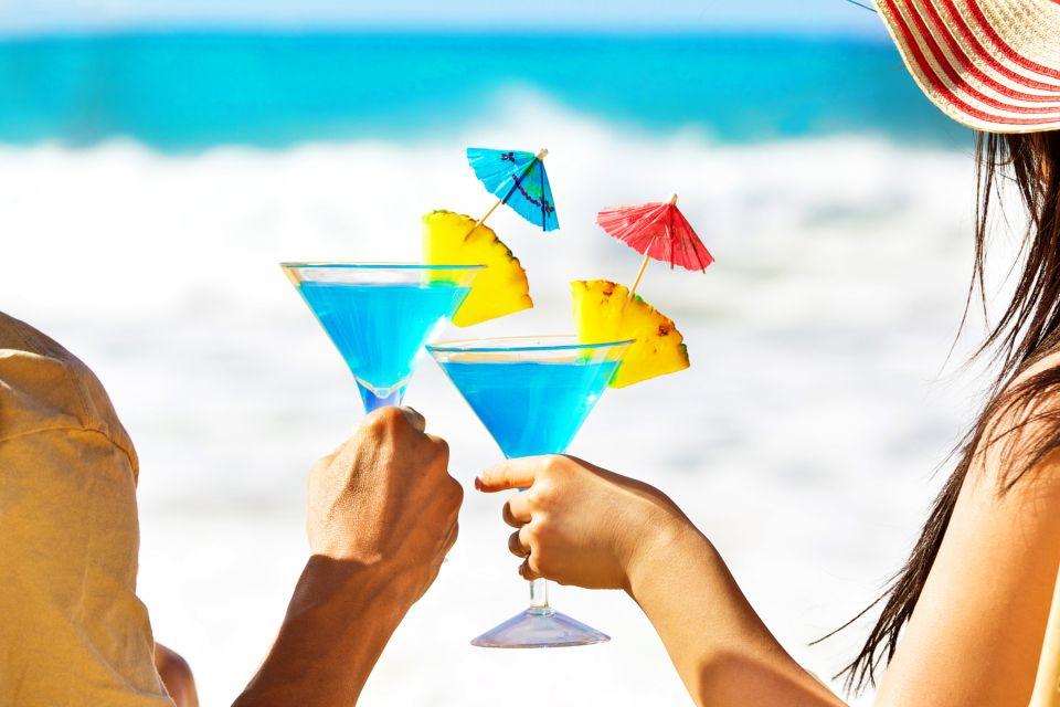 La gastronomie, alimentation, nourriture, USA, amérique, etats-unis, recette, hawaii, hawaii, blue, cocktail, plage