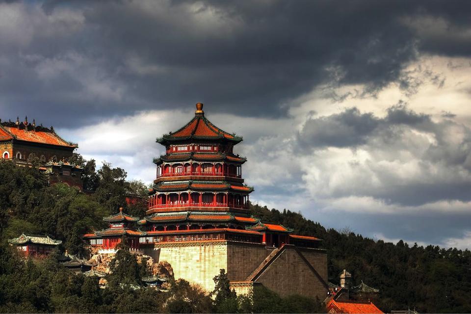 Le Parc des Collines parfumées (Xiangshan) , Le Parc des Collines parfumées Xiangshan , Chine