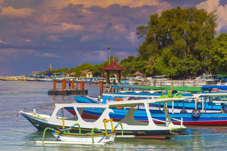 , Le isole Gili, Le rive, Lombok