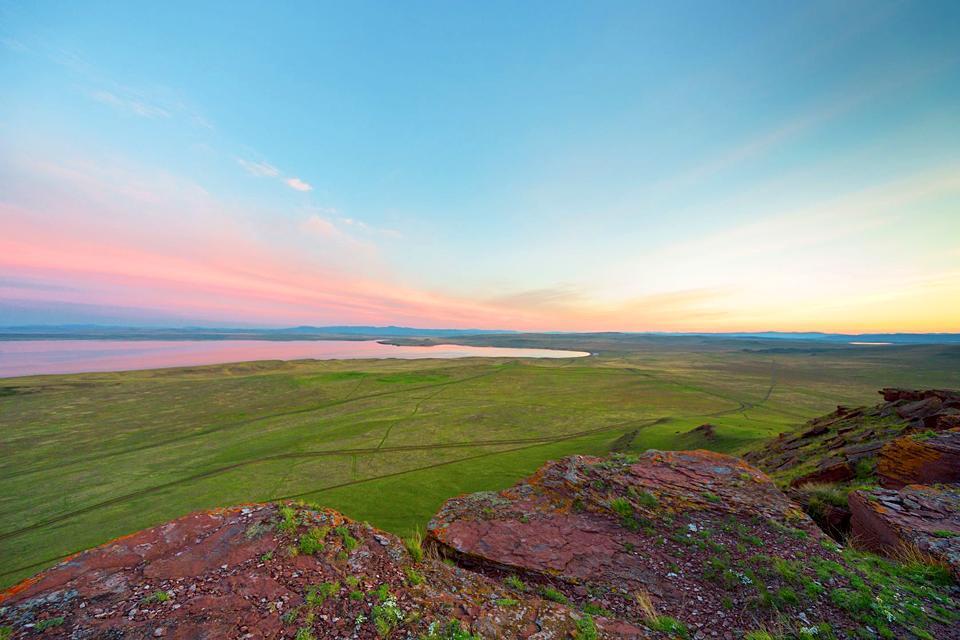 Le steppe , Russia
