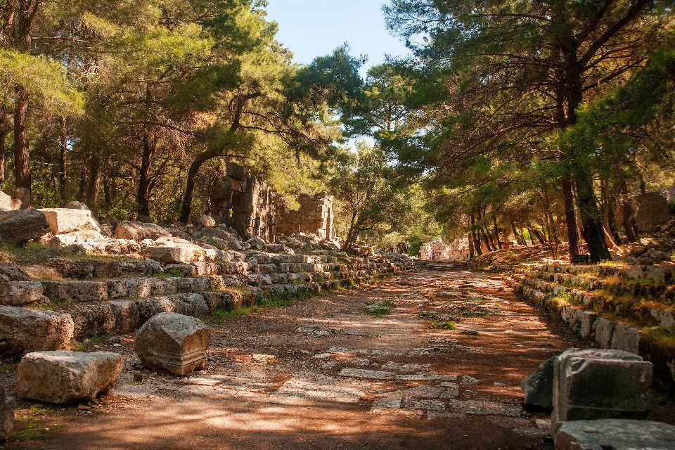 La cité antique de Phaselis , La création de la cité , Turquie