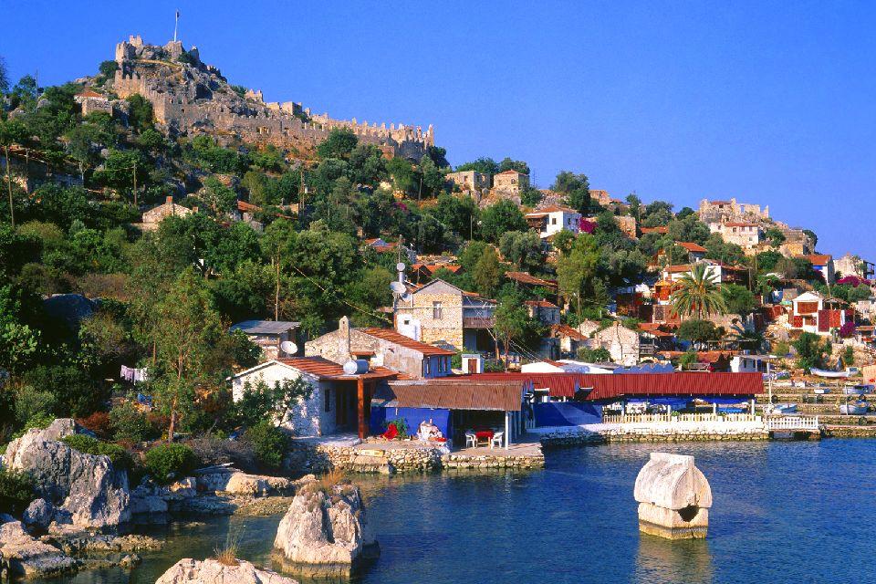 La baie de Kékova , La région de Kékova , Turquie
