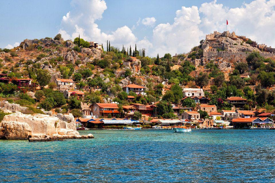 La baie de Kékova , Turquie