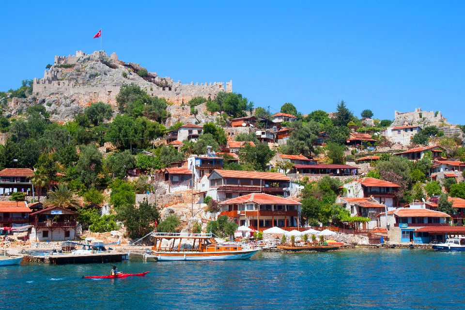 La baie de Kékova , Zone protégée , Turquie