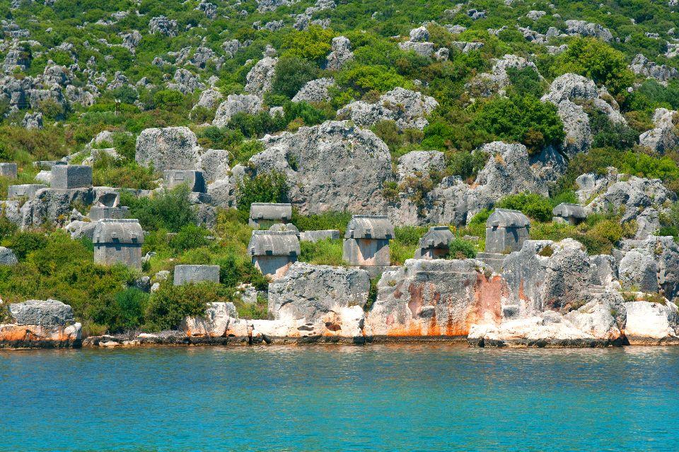 La baie de Kékova , L'archipel de Kékova , Turquie