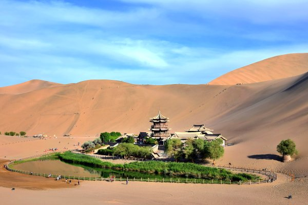 Les oasis , Chine