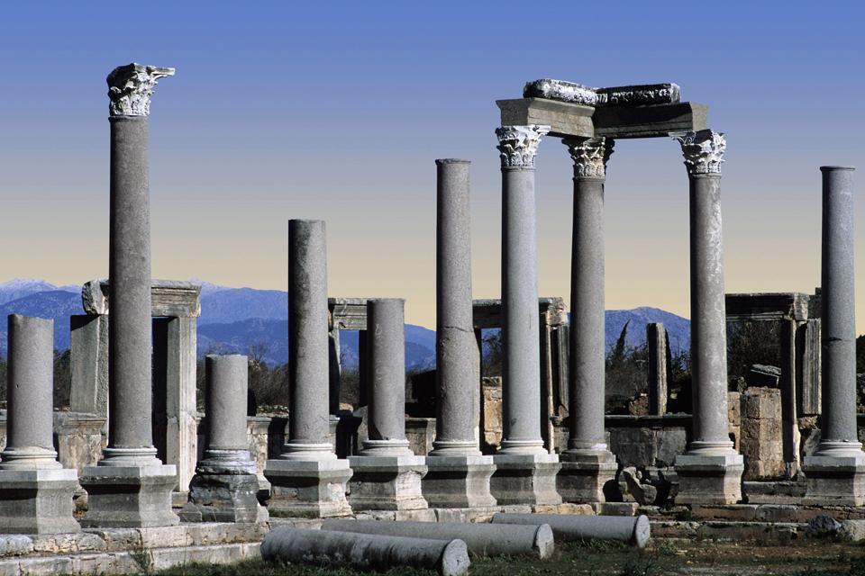 Pergé, ville hellénistico-romaine , Turquie
