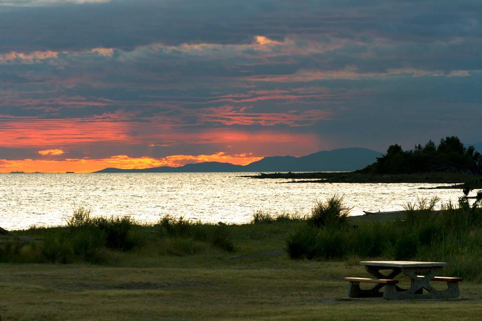 Le Parc Régional d'Iona Beach , Canada