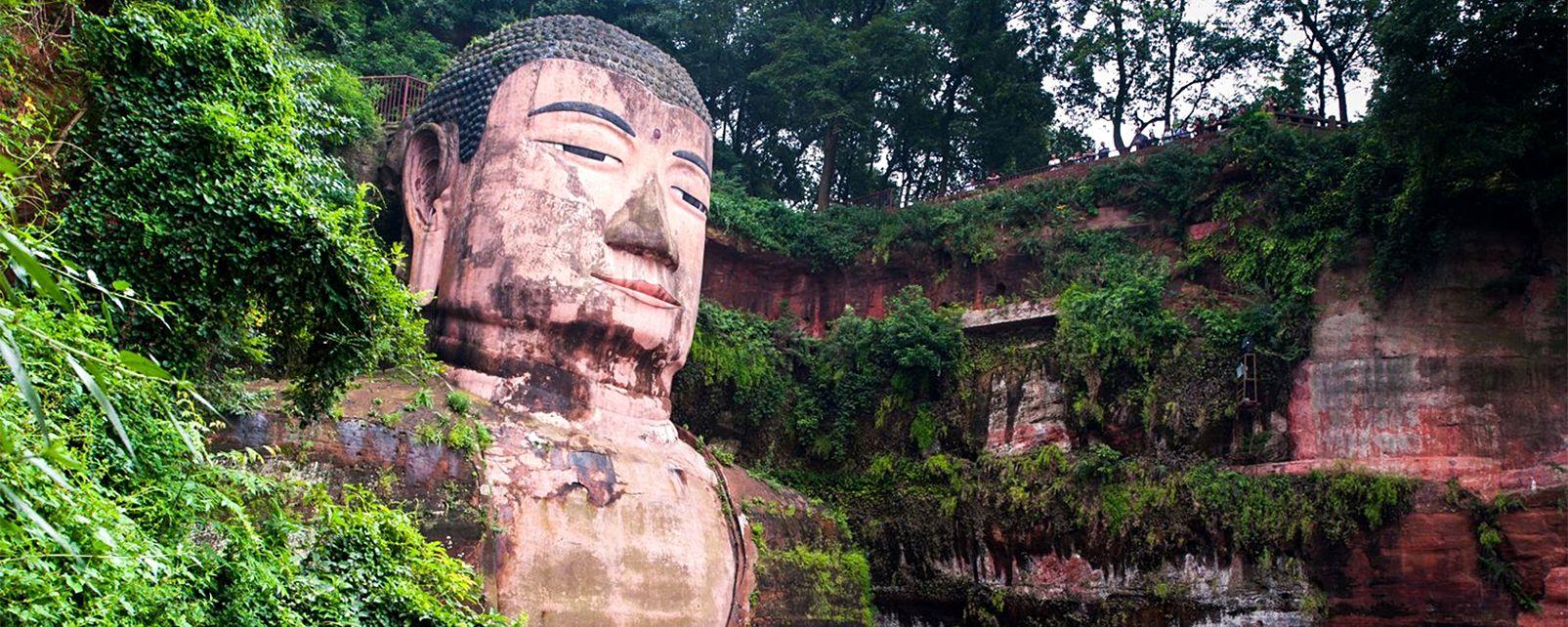 El Gran Buda de Leshan , China