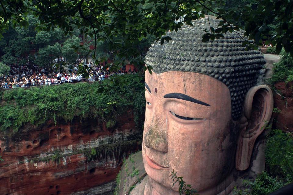 Le grand Bouddha de Leshan , Un bouddha géant , Chine