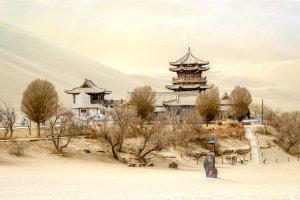 El itinerario Sur de la ruta de la Seda , El itinerario sur de la carretera de la Seda , China