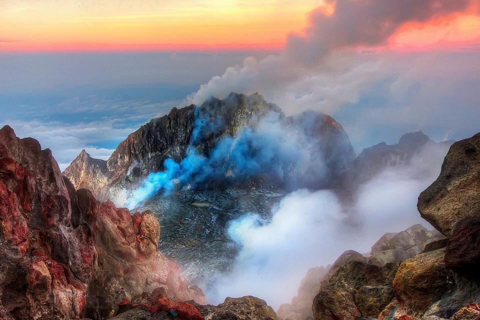 Les volcans , Indonésie