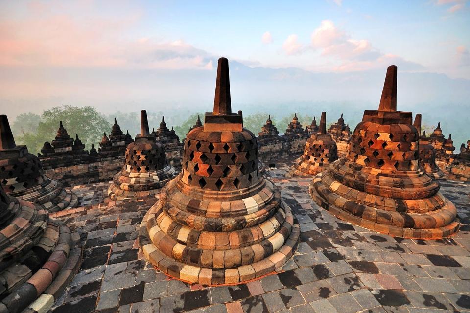 Borobudur , Indonésie