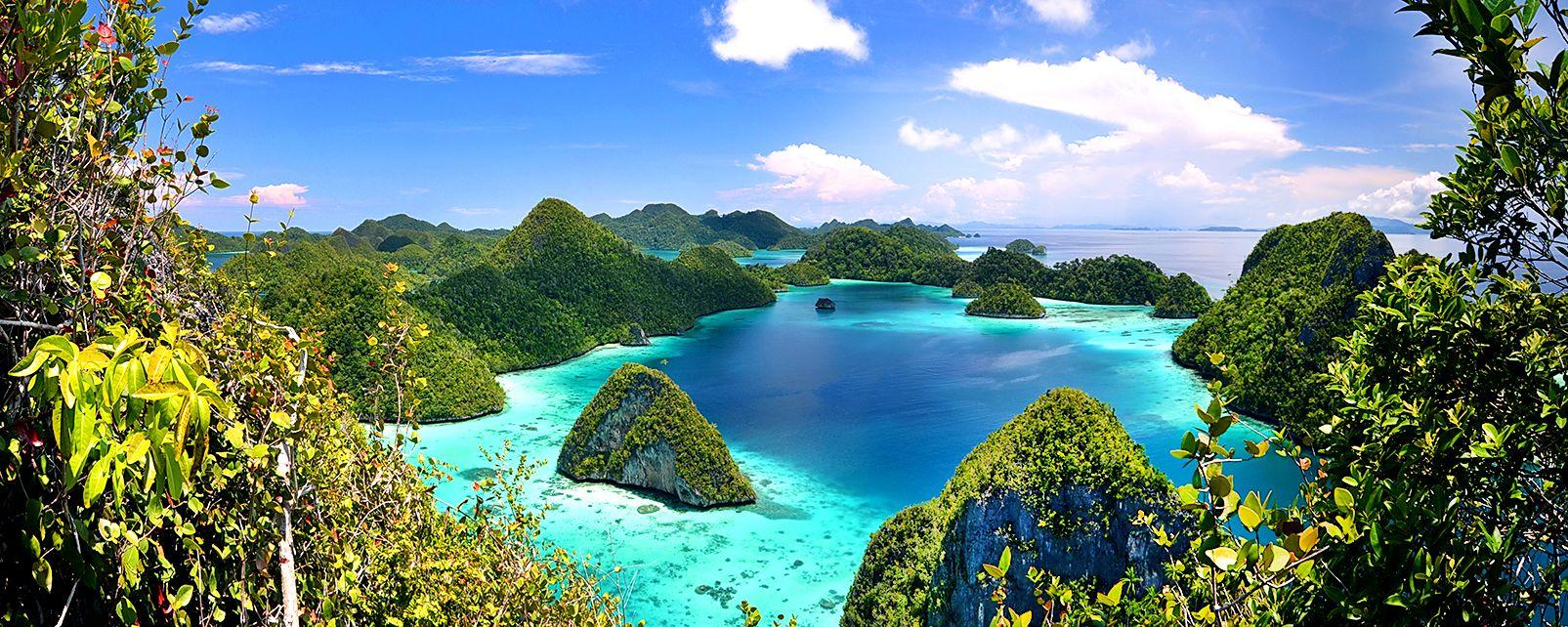 , Les îles Raja Ampat, Les côtes, Papouasie occidentale