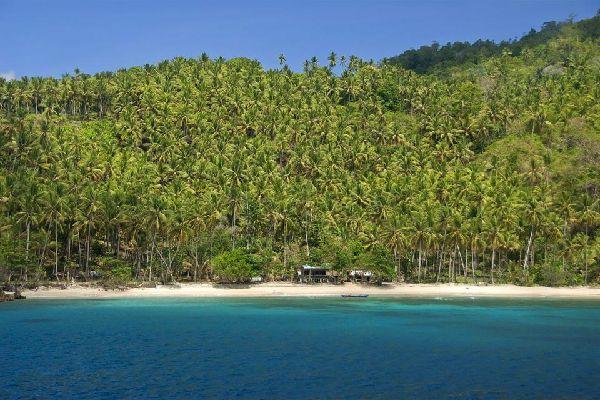Les îles Raja Ampat , Indonésie
