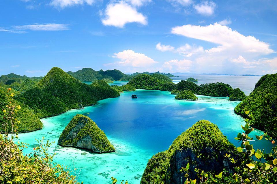 , Le isole Raja Ampat, Le rive, Papuasia occidentale