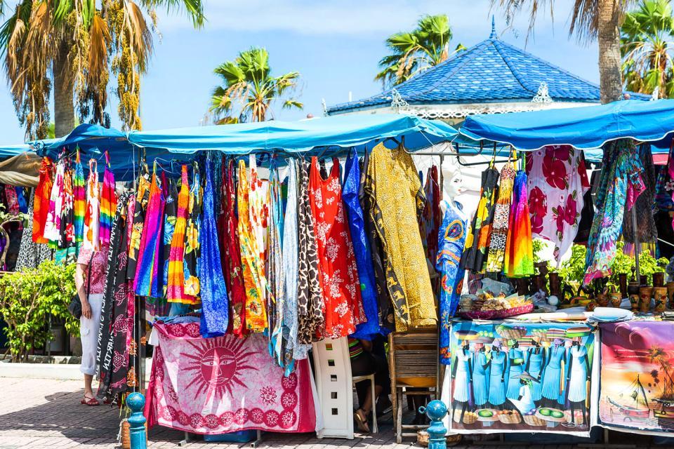 Le shopping , Aruba Bonaire Curaçao
