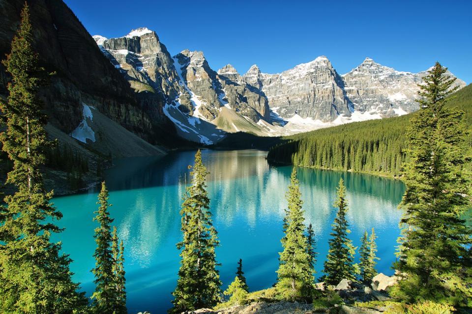 Los lagos , Canadá