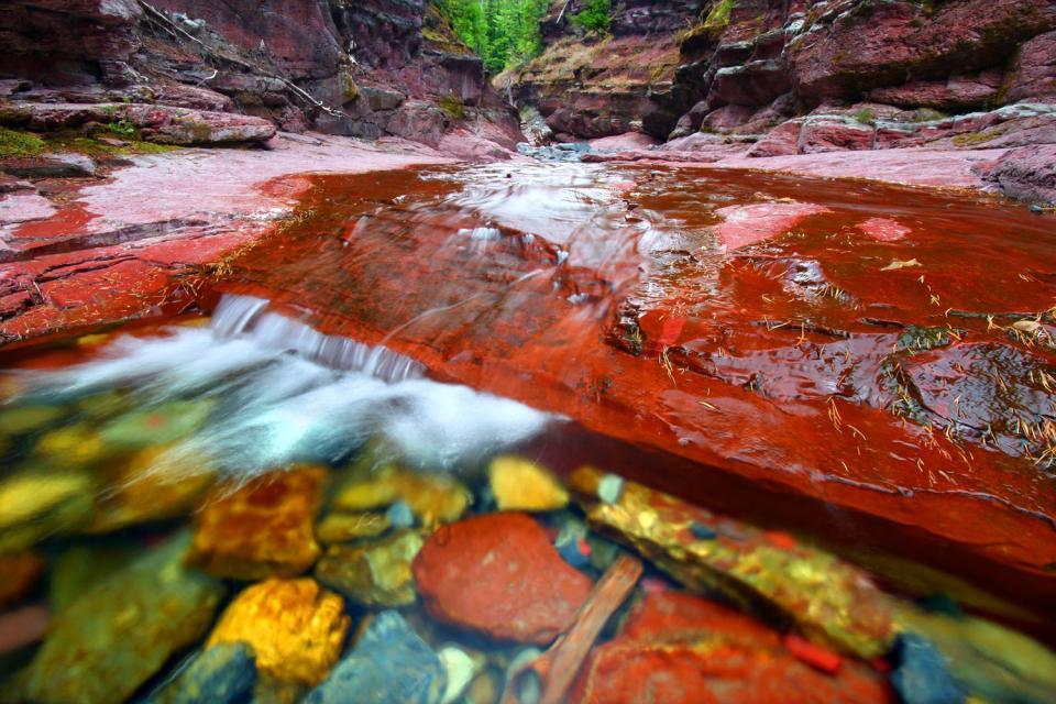 Il Parco Nazionale Dei Laghi Waterton Alberta Canada