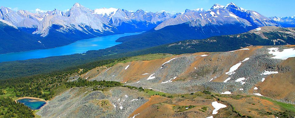 Der Jasper Nationalpark Alberta Kanada