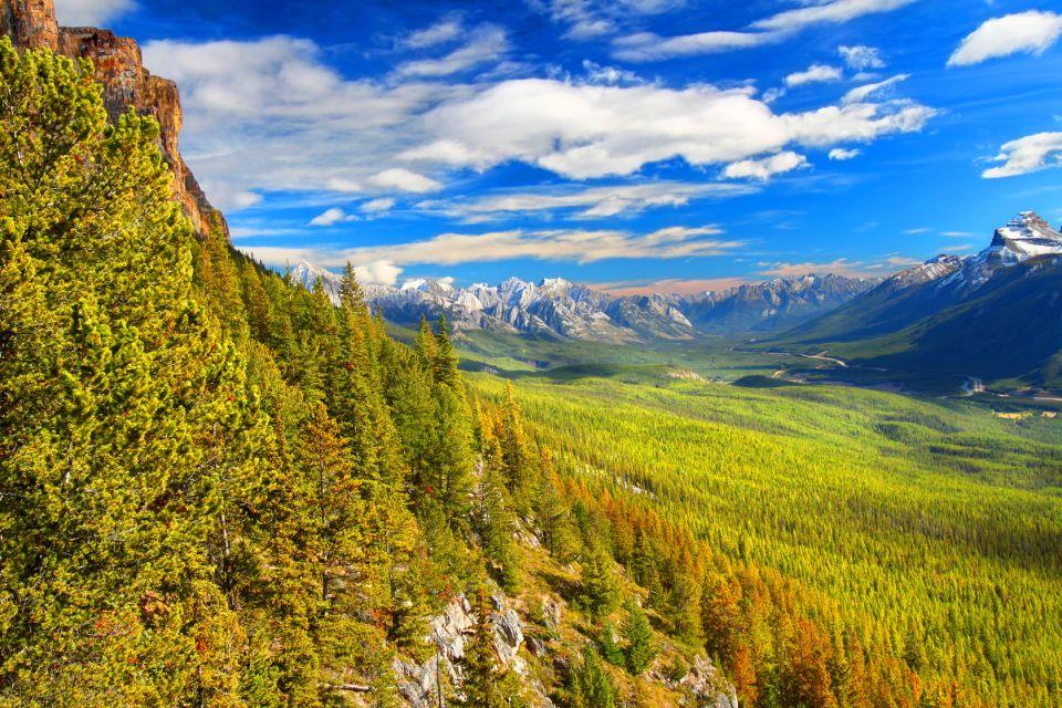 , El Parque Nacional de Banff, Los parques y las reservas naturales, Alberta