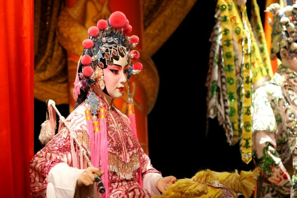 L'Opéra du Shaanxi , Chine