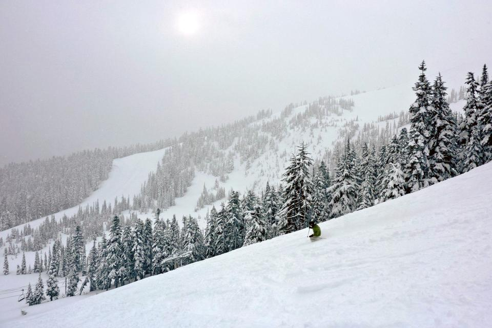 El esquí , Canadá