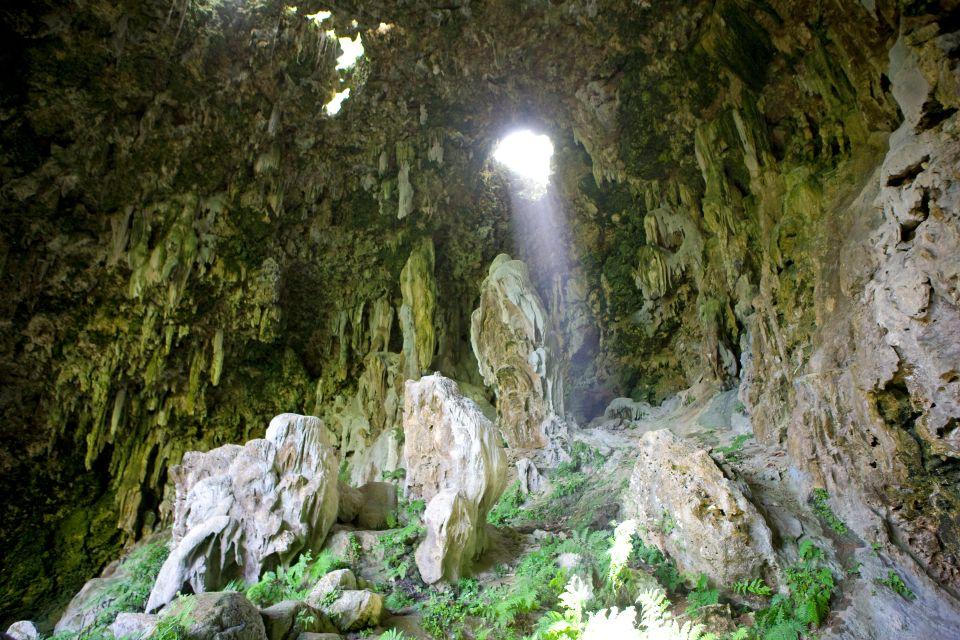 , Las cuevas de Rurutu, Los paisajes, Polinesia Australes