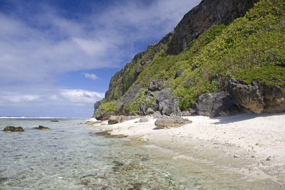 Las playas, Los paisajes, Polinesia Australes