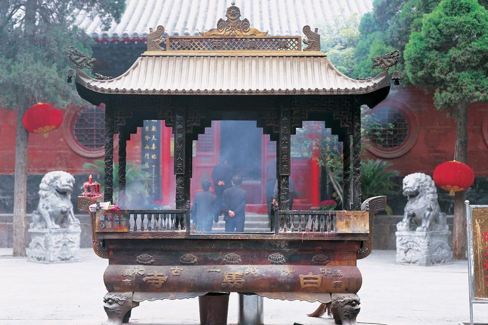Le Temple des Chevaux Blancs , Chine