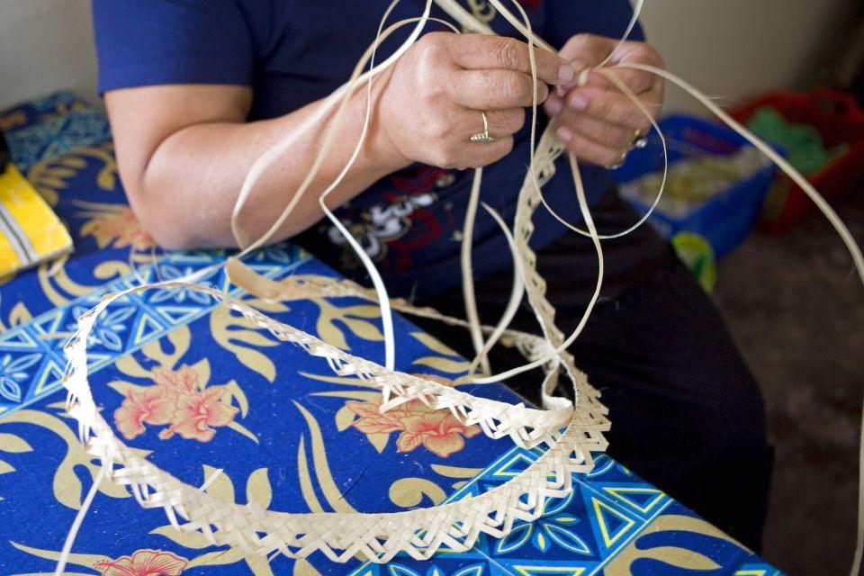 Le tressage artisanal, Le arti e la cultura, Le isole australi (Polinesia)