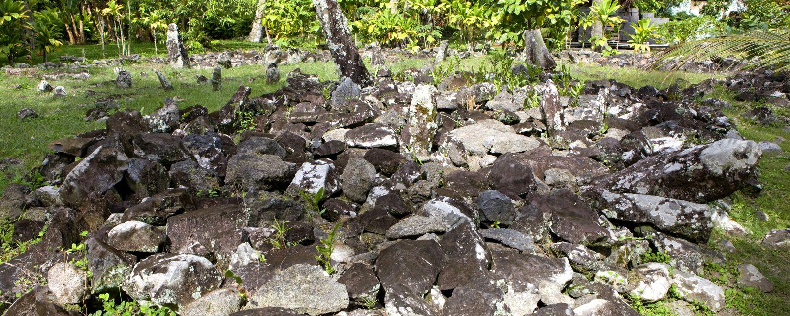 , Los yacimientos arqueológicos, Arte y cultura, Polinesia Australes