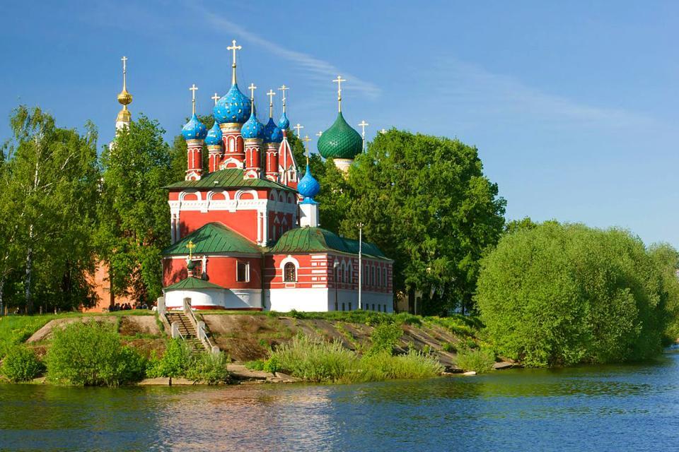 L'église Saint-Dimitri , Russia