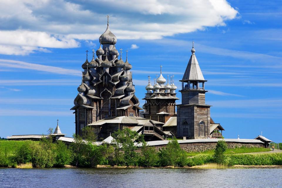 Die Insel Kischi , Russland