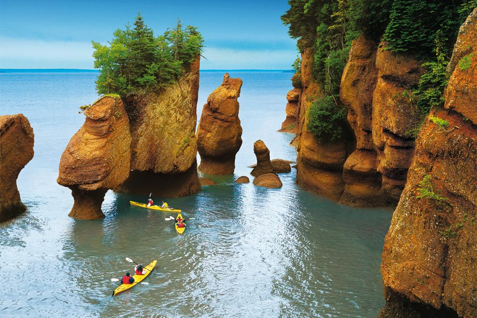 The Bay of Fundy , Canada