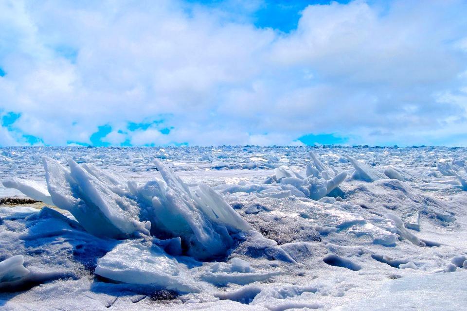 Le lac Baïkal , Russie