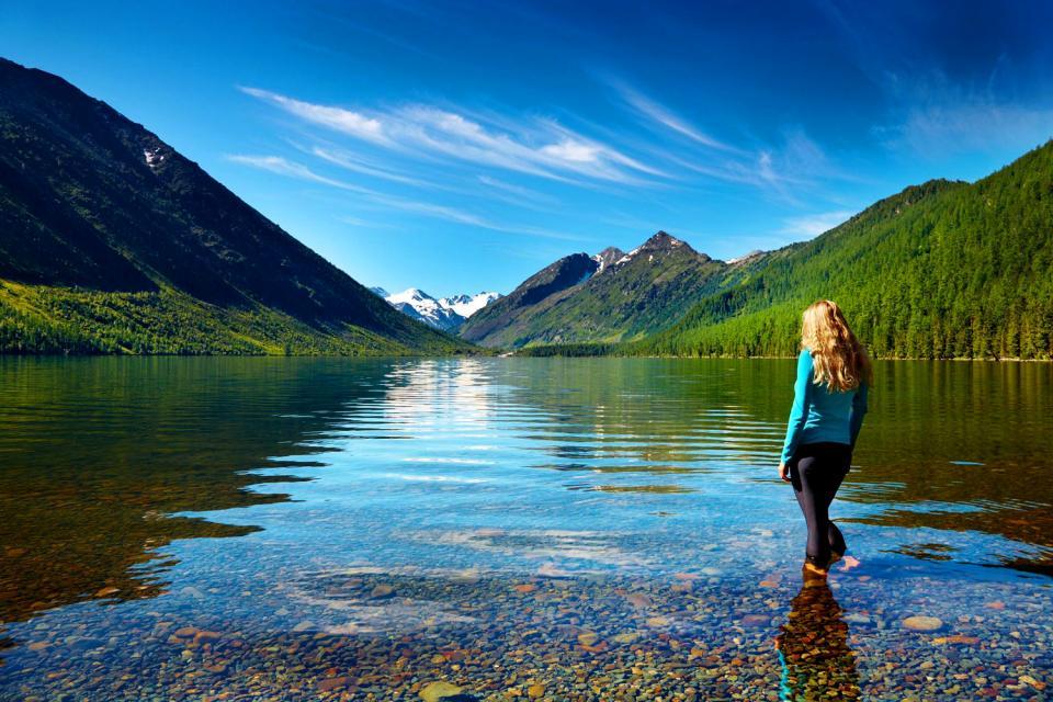 Das Altai-Gebirge , Russland