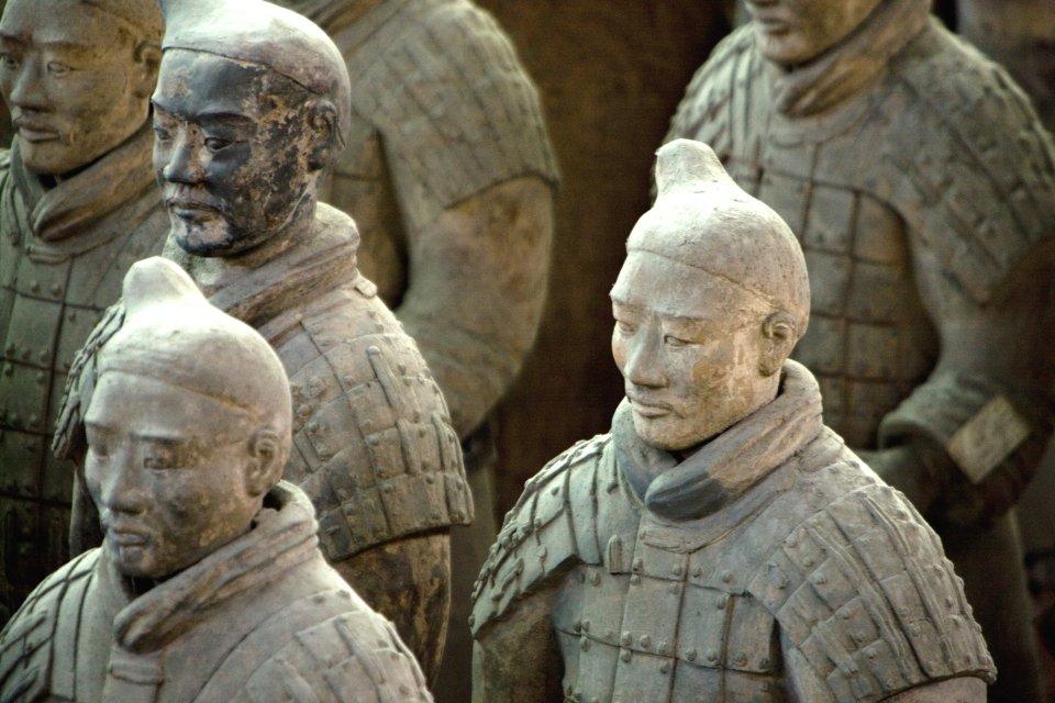 Les sites, Asie, Chine, Xian, terre cuite, statue, qin, empereur, terracotta, arm?e, soldat, unesco