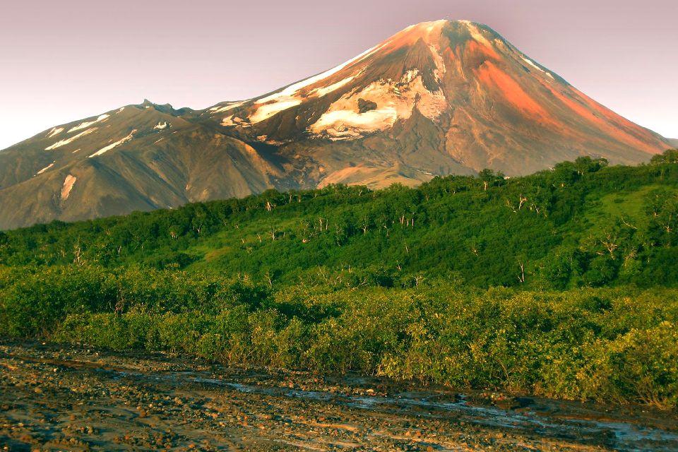 Die Vulkane auf Kamtchatka , Russland