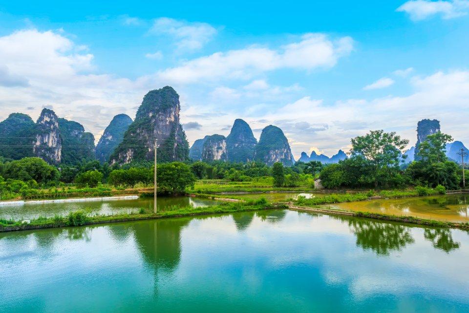 Los ríos de Yangshuo , China