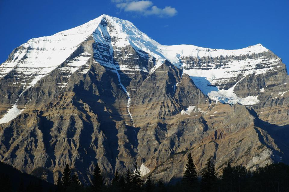 El Monte Robson , Canada
