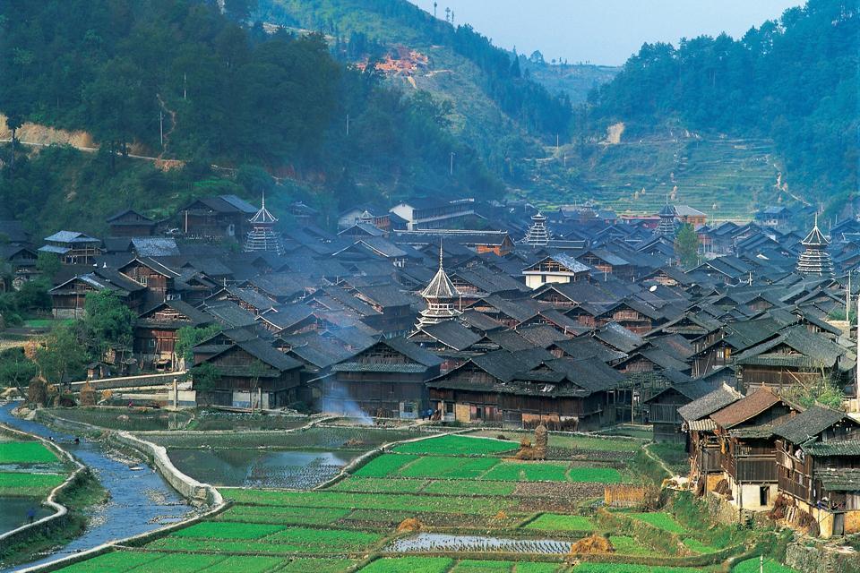 Die Dörfer , China