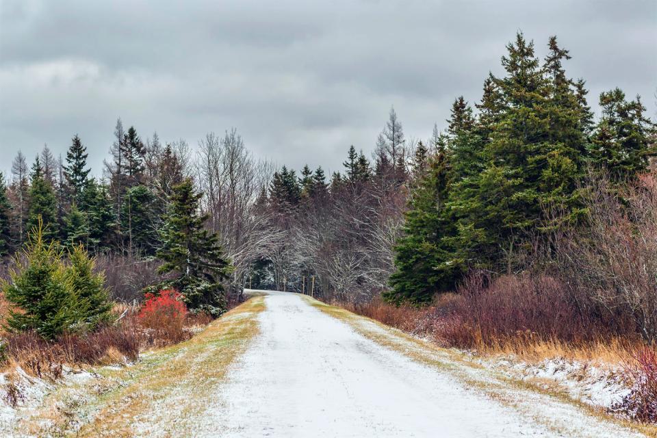 Confederation Trail Prince Edward Island Canada