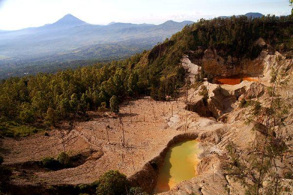 I vulcani , Indonesia