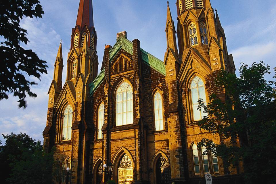 La Basilique Saint Dunstan , Canada