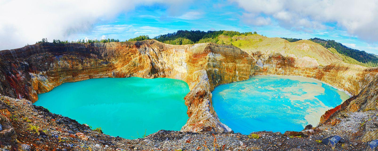 Parc National du Kelimutu , Indonésie