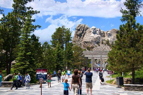 El monte Rushmore , Estados Unidos