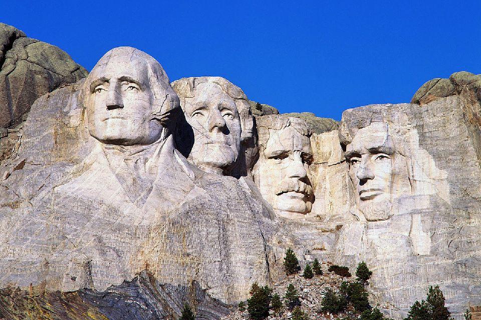 Le Mont Rushmore , Etats-Unis