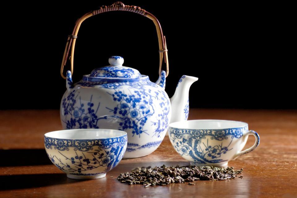 Die Kunst der Töpferei und des weißen Porzellans , Töpfer- und Porzellankunst , China