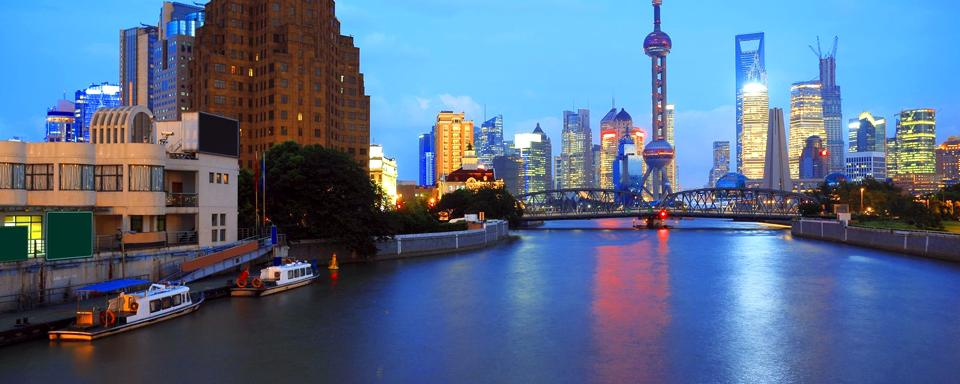 Resultado de imagem para rio Huangpu shanghai china